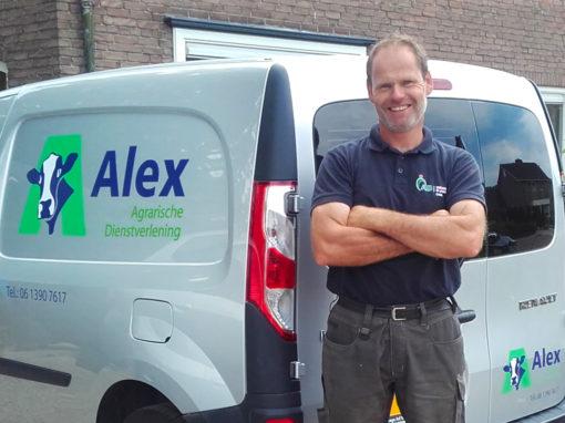 Logo Alex van Alst