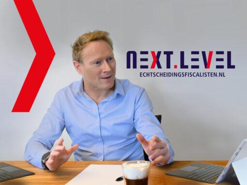 Logo ontwerp Next level echtscheidingsfiscalisten.nl